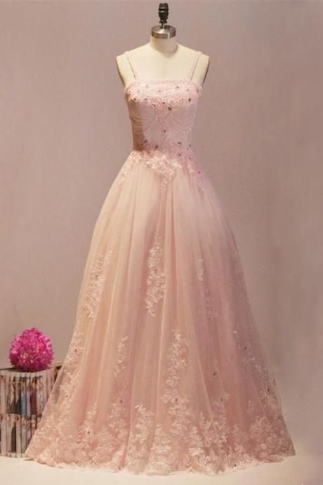 Prom Dresses,Evening Dress,Party Dresses,Blush Pink Prom Dresses,Ball Gown Prom Dresses,Quinceanera Dresses,Girly Prom Dresses For Teens