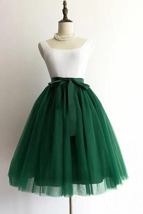 Tutu skirt, 5 layers of pleated skirt, net gauze adult skirt, spring and summer A-line skirt